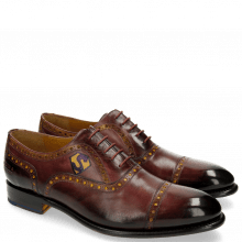 Oxford shoes Lionel 1 Burgundy