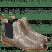 Ankle boots Susan 10 Perfo Oxygen Folk Lasercut Oxygen