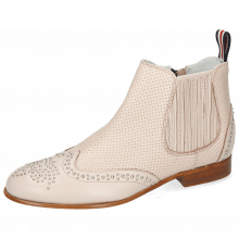 Ankle boots Sandy 4 Nappa Glove Perfo Pink Salt