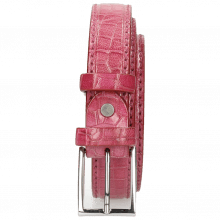 Belts Linda 1 Crock Dark Pink Classic Buckle