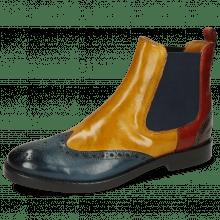 Ankle boots Amelie 5 Ice Lake Indy Yellow Rubino Khaki
