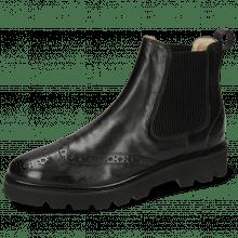 Ankle boots Selina 29 Imola Black Elastic Ribbed Black