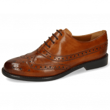 Oxford shoes Selina 8 Pisa Classic Cognac