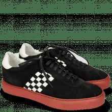 Sneakers Harvey 7 Lima Black Backstrap White