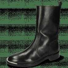 Boots Elena 4 Nappa Black Zip