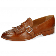 Loafers Jessy 26 Pavia Tan Rivets