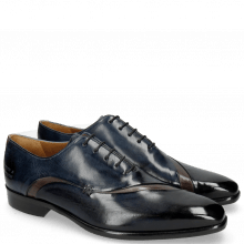 Oxford shoes Lance 44 Navy Stone Helio