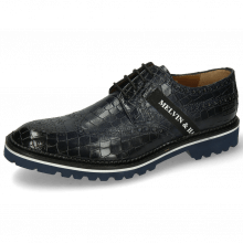 Derby shoes Eddy 25R Crock Marine Strap