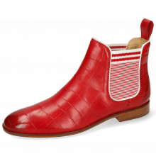 Ankle boots Susan 10 Vegas Turtle Ruby Elastic Oxford
