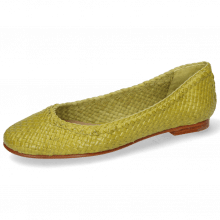 Ballet Pumps Kate 5 Woven New Grass