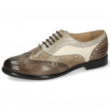 Oxford shoes Selina 30 Imola Stone Digital Oxygen Como Off White