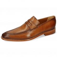 Loafers Leonardo 4 Skink Washed Tan Shade Dark Brown