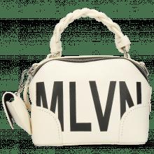 Handbags Zinnia Prato White Screenprint Black