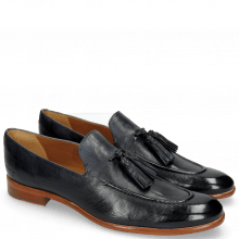 Loafers Clint 6 Pavia Navy Tassel Navy