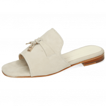 Mules Nikita 6  Oily Suede Off White