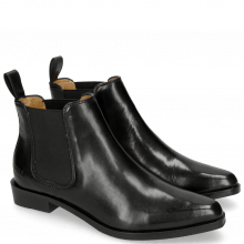 Ankle boots Marlin 4 Black Elastic Black HRS Black Brown