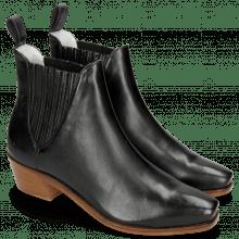 Ankle boots Kylie 1 Vegas Black Elastic Black