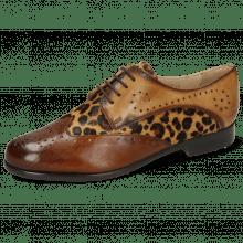 Derby shoes Selina 41 Imola Wood Hairon Leo