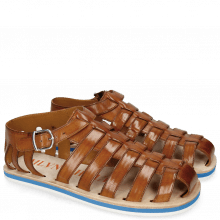 Sandals Sam 3 Tan Modica White EVA