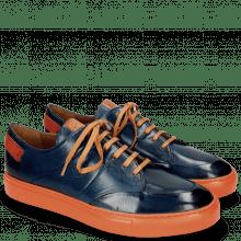 Sneakers Harvey 15 Navy Lining Orange
