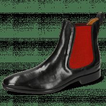 Ankle boots Emma 8 Imola Black Elastic Ribbed