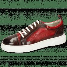 Sneakers Harvey 12 Monza Stone Shade Wine Ruby
