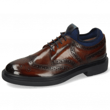 Derby shoes Ron 2 Wood Net Lycra Navy