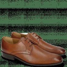 Derby shoes Xander 1 Rio Perfo Tan