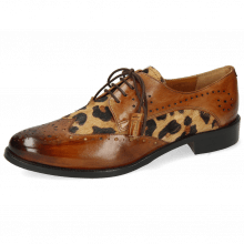 Derby shoes Betty 3 Wood Hairon Tanzania