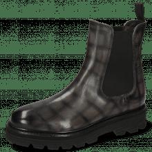 Ankle boots Leonie 5 Vegas Turtle Grigio Shade Black