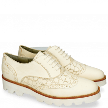 Oxford shoes Selina 24 Vegas Perfo White