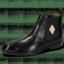 Ankle boots Elyas 5 Black Elastic Black Lining