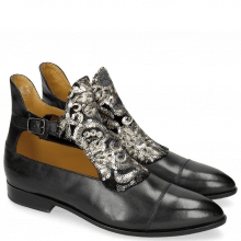 Ankle boots Jessy 21 Black Textile Zardosi