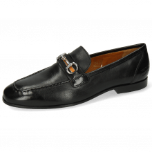 Loafers Clive 16 Imola Black Strap Black Orange