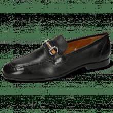 Loafers Clive 16 Imola Black Strap Black Orange