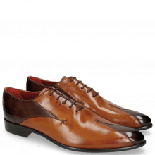 Oxford shoes Toni 31 Mogano Tan LS Red