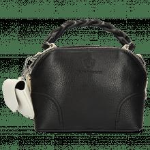 Handbags Zinnia Prato Black Tabs White