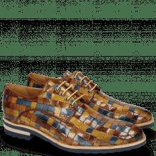 Derby shoes Brad 7 Woven Multi Wood Wind Nude Olivine