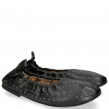 Ballet Pumps Iris 7 Nappa Black Rivets