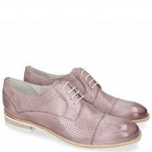 Derby shoes Amelie 2 Vegas Perfo Light Purple
