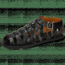 Sandals Sam 3 Crust Black