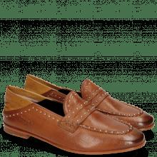 Loafers Scarlett 42 Pavia Tan Nappa Glove Camel