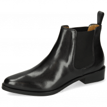 Ankle boots Marlin 4 Black Elastic Black Lining Nappa