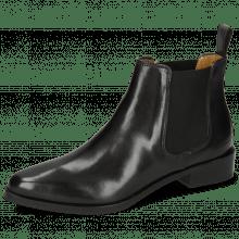 Ankle boots Marlin 4 Black Elastic Black Lining Nappa