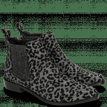 Ankle boots Marlin 4 Leo Glitter Gunmetal