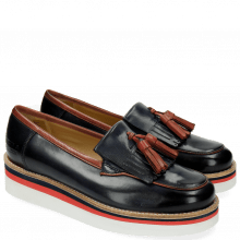 Loafers Kelly 18 Navy Justin White