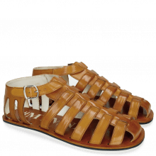 Sandals Sam 3 Vegas Tan Modica White