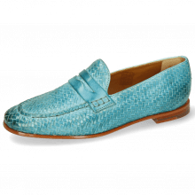 Loafers Scarlett 52 Vegas Haring Bone Weave Sweet Water