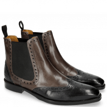 Ankle boots Martin 5 Venice Haina L London Fog Stone
