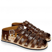 Sandals Sam 3 Mid Brown Modica